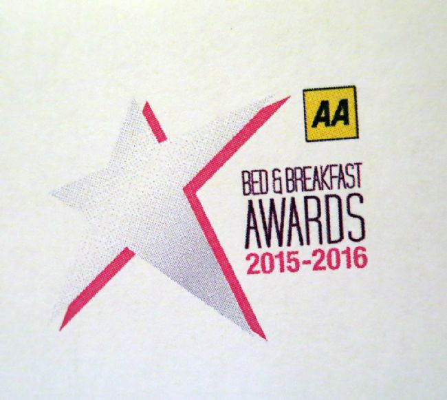 "The Dulaig is a Finalist in the AA Bed and Breakfast Award for the ""Friendliest B&B of the Year 2015"""