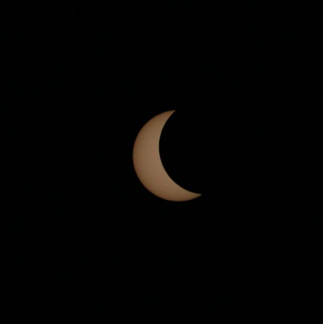 Solar Eclipse over The Dulaig