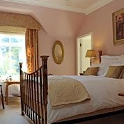 Benson Room and its beautiful brass bed