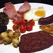 A selection of our Scottish Breakfast, cooked to your liking!