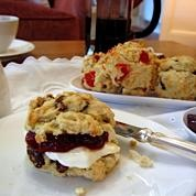 Gordon's scones with home made jam