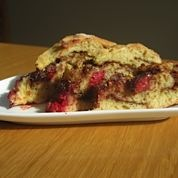 Home-made Raspberry Hazelnut Chocolate Bread