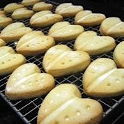 Shortbread, fresh from our oven